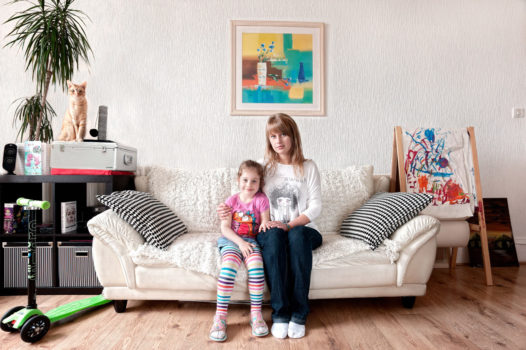 Magda and Nicola (Edinburgh, 2012)Magda is Polish and came to Scotland in 2005 shortly after Poland joined the EU. She is raising her daughter Nicola in Edinburgh. 