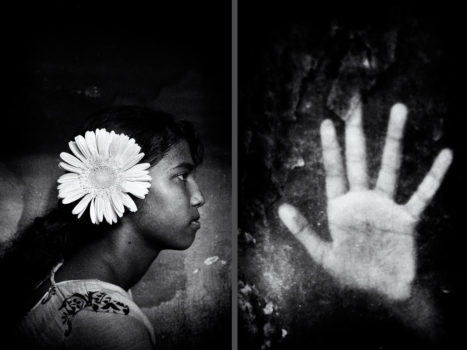 "With a healthy dose of compassion, Debiprasad photographs the marginalized. He says his photographic vision is ""not only to depict social, political and financial issues and conflicts but also to portray surreal beauty and the enduring power of the human spirit."" These diptychs make for an interesting way of seeing the children and their environments."