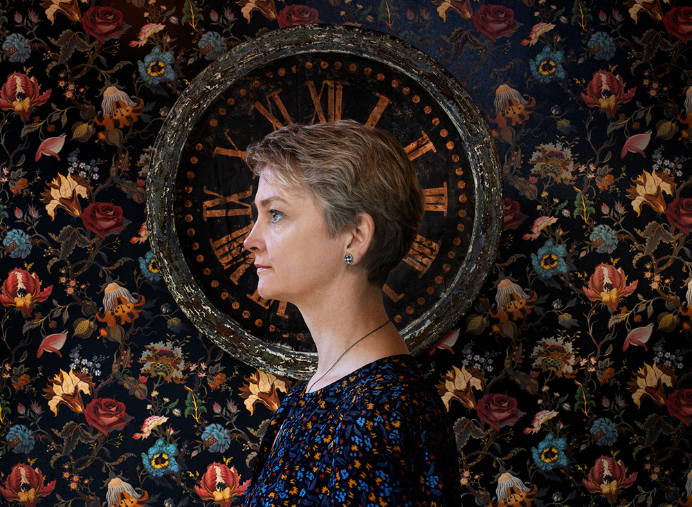Yvette Cooper, MP for Normanton Pontefract and Castleford, by Hannah Starkey