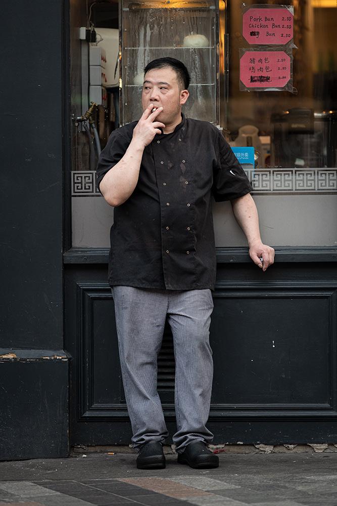 From the series: Jan Enkelmann: Smoking Chefs