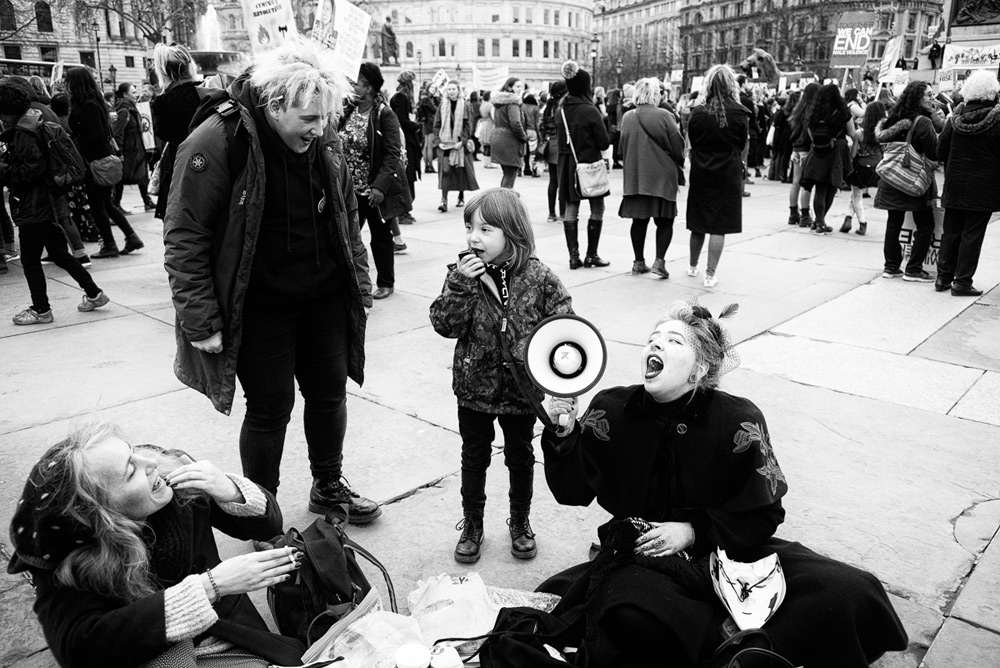 Million Women Rise, London, 2018