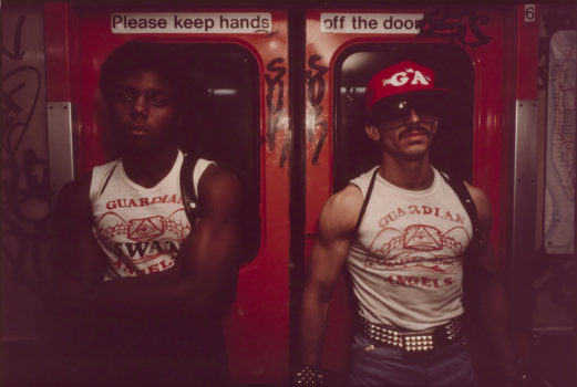 "Bruce Davidson  ""Subway"" 1980  Chromogenic development print. Museum of the City of New York. Anonymous gift."