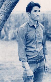"Ed Drew: Hamza Afghani. 7x10"", signed. @eddrewworks"