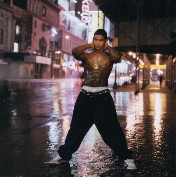 """Michael Benabib: Usher, 1998. 11x14"""", signed. @classichiphopartists Click here to buy"""