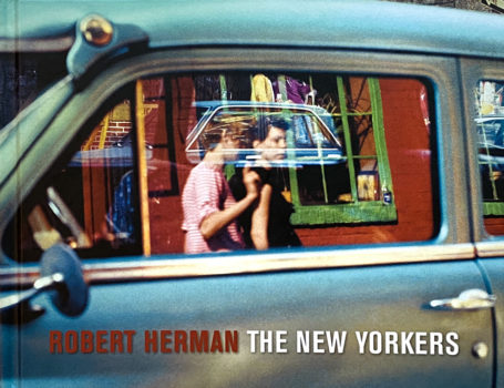 SOLD Robert Herman: The New Yorkers. Book, signed.