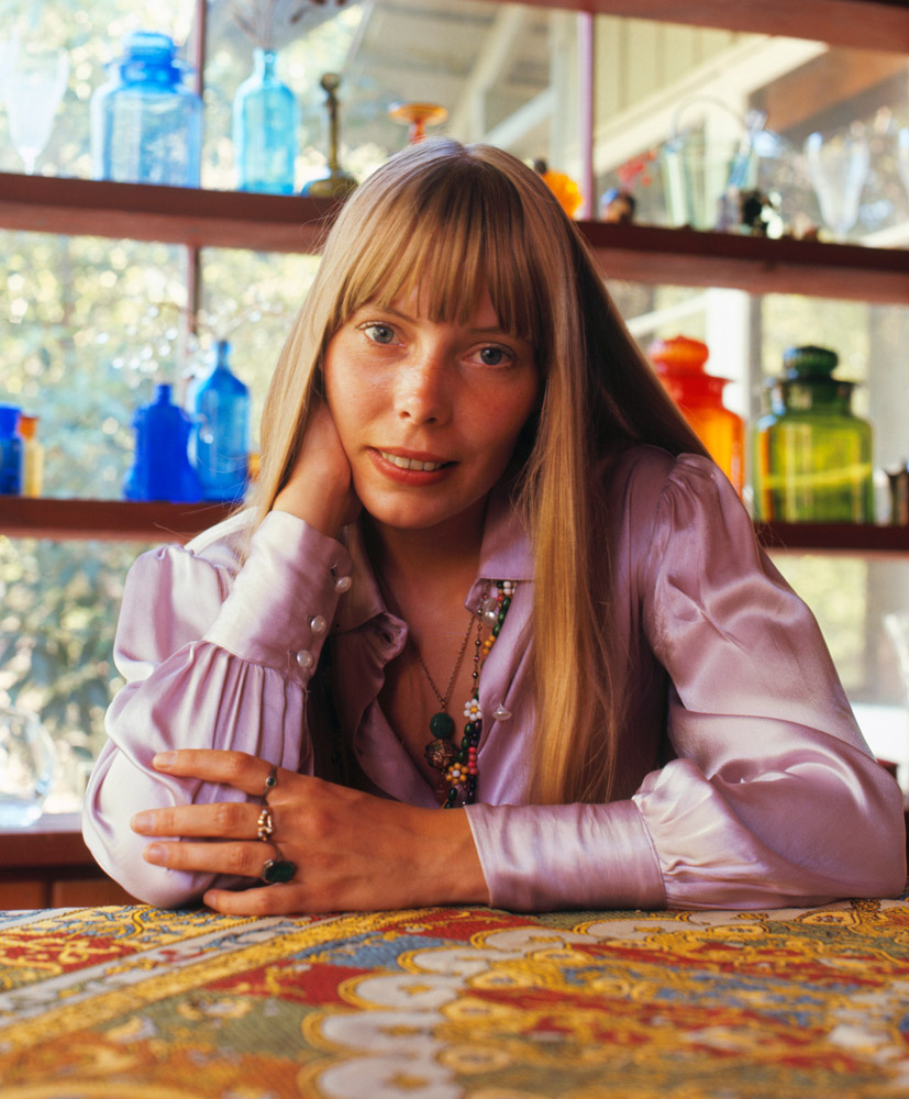 Joni Mitchell, LA, 1968 © Baron Wolman. SOLD OUT!!