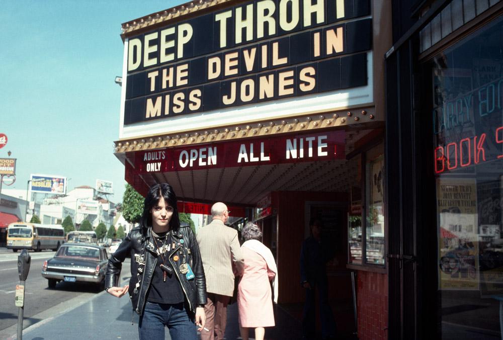 Joan Jett, Hollywood, 1977 © Brad Elterman