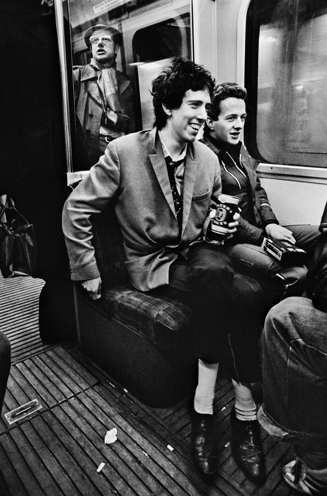 The Clash, London, 1977 © Chalkie Davis