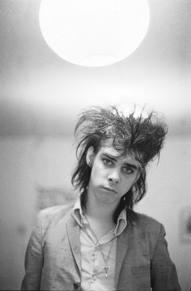 Nick Cave, London, 1982 © David Corio. Click here to buy
