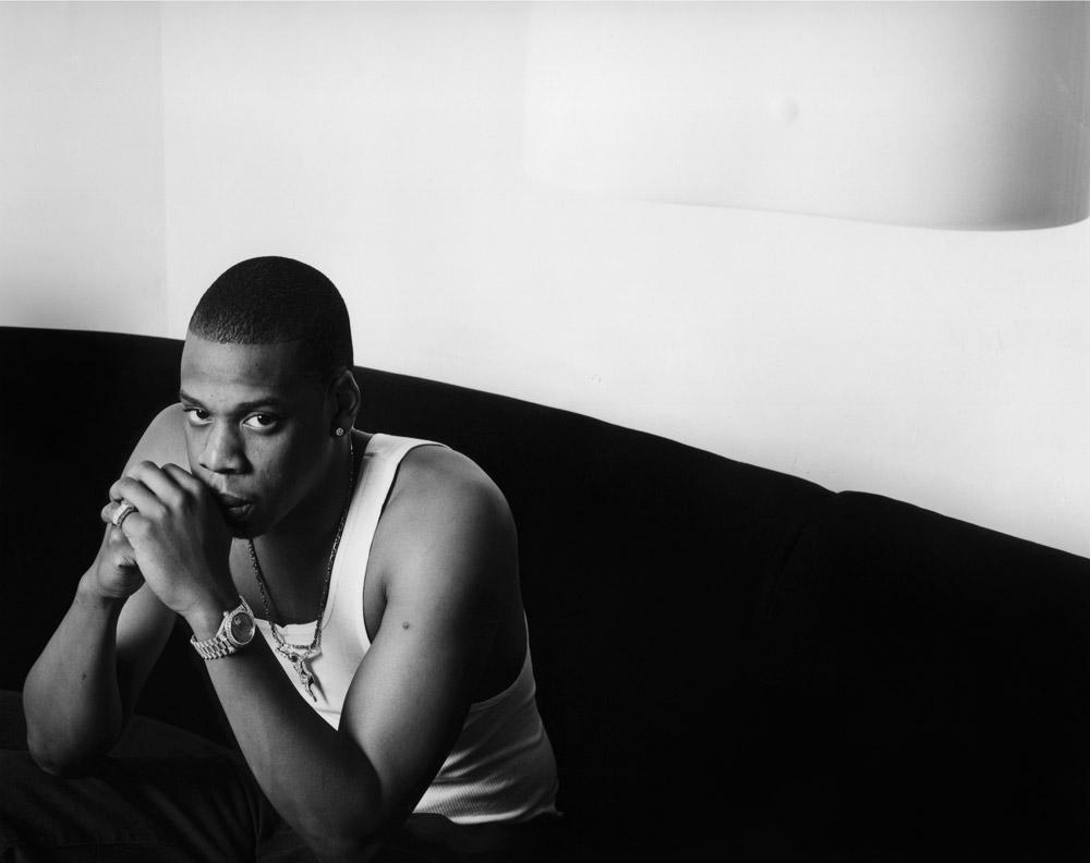 Jay-Z, NY, 1997 ©Sue Kwon