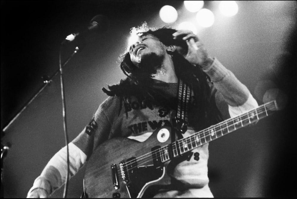 Bob Marley, UK, 1978 ©Jill Furmanovsky via rockarchive.com
