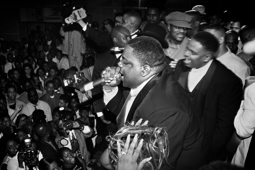 Notorious B.I.G., NY, 1995 © Jonathan Mannion. SOLD OUT!!