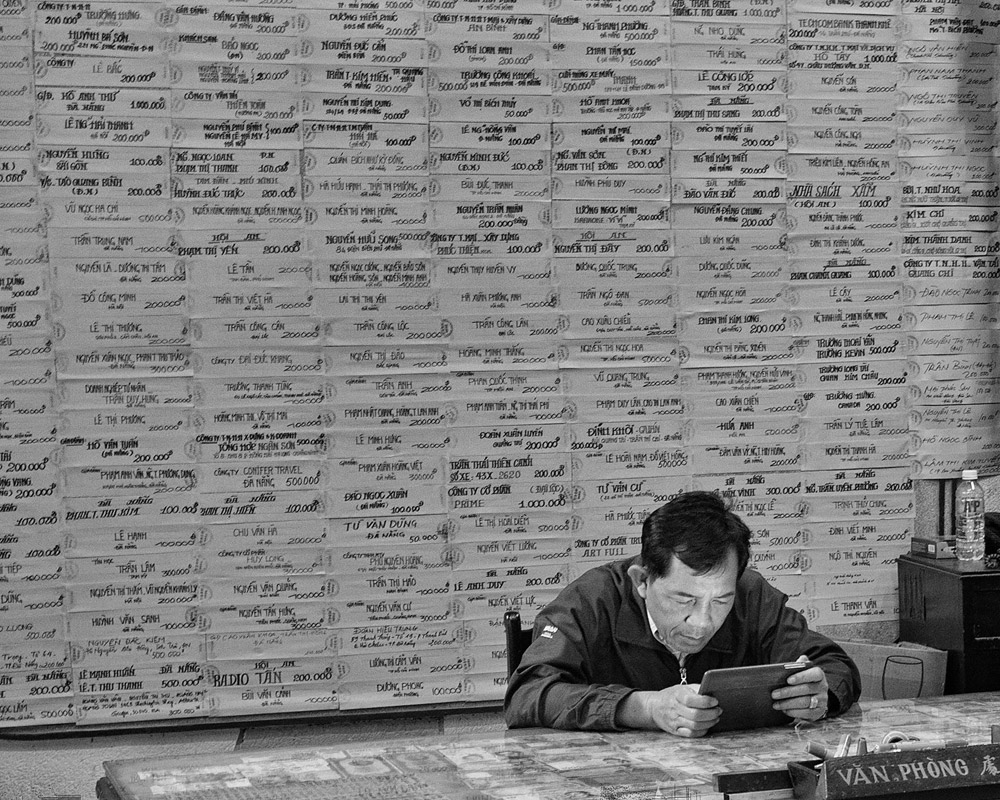 Accounting, Buddhist Temple, Hoi-An, Vietnam