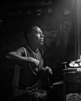 Leather Worker, Havana, Cuba