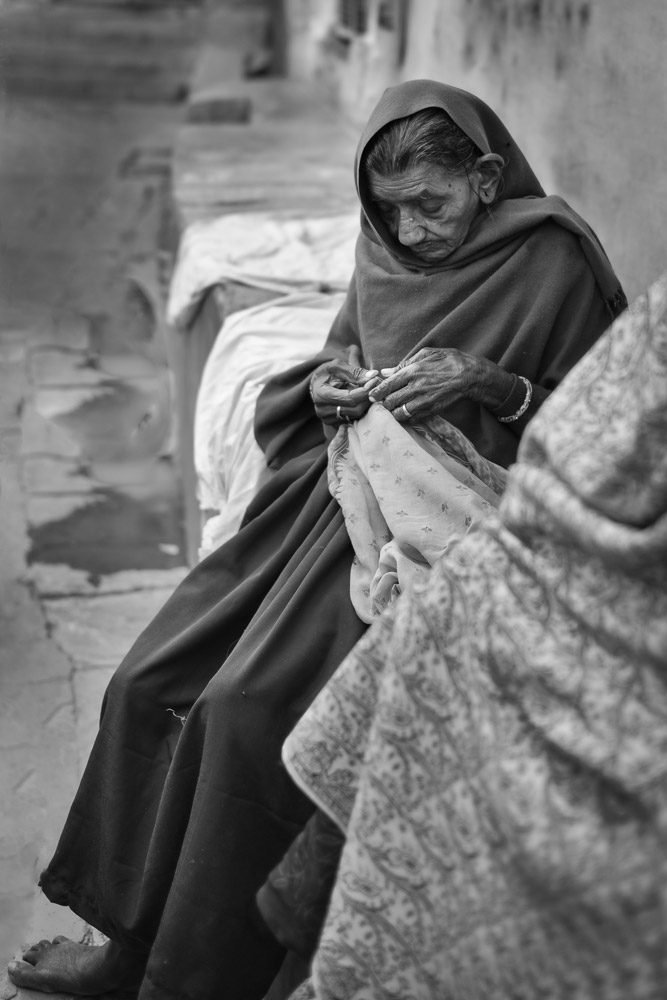 Seamstress, Jodphur, India
