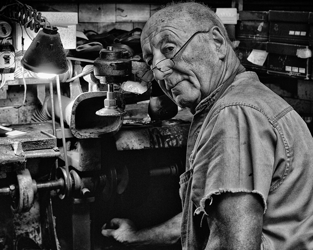 Shoe Repairman, Buenos Aires, Argentina