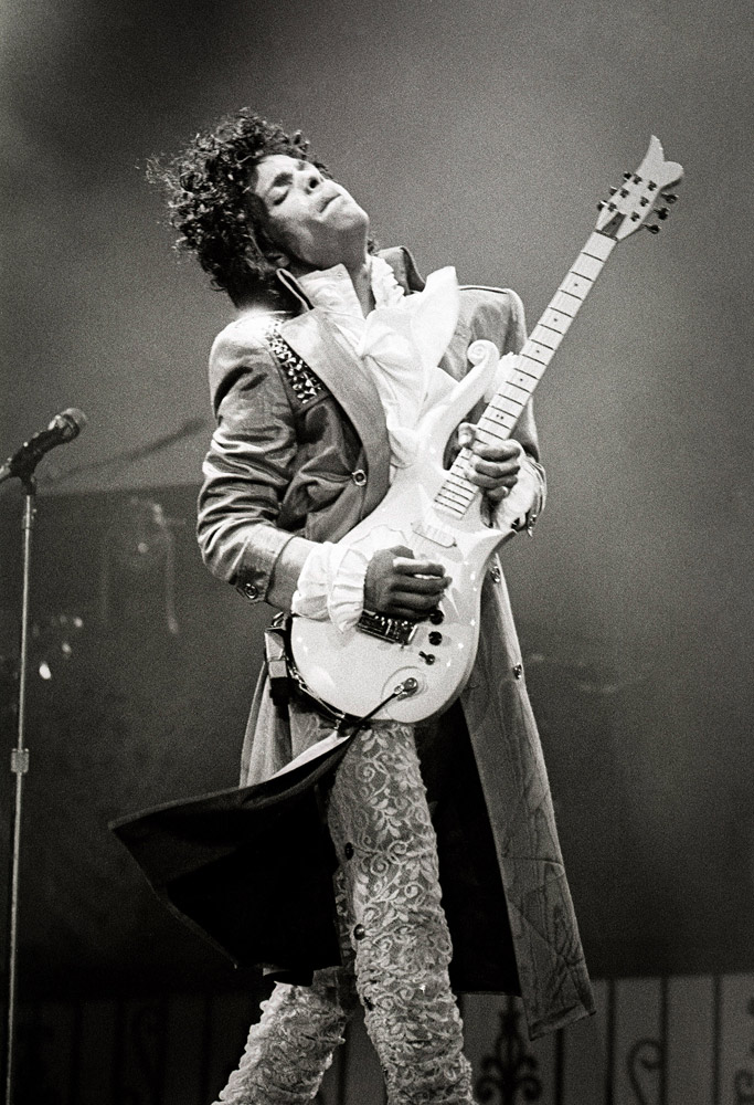 Prince, Purple Rain tour, 1984 © Larry Busacca. SOLD OUT!!
