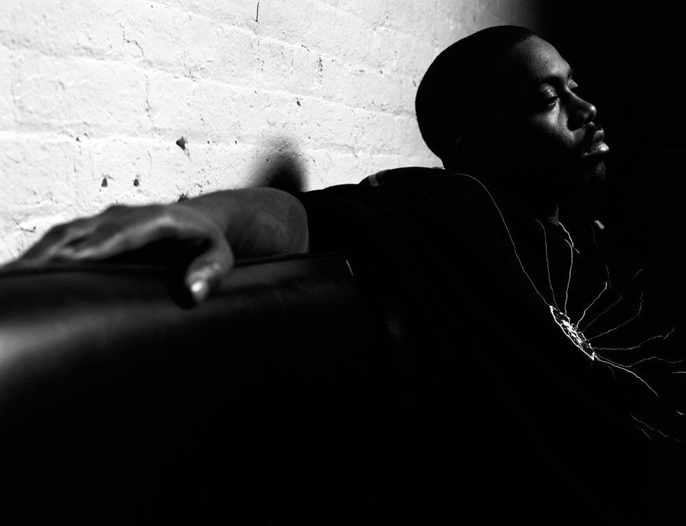 Nas, NY, 2005 © Mike Schreiber. Click here to buy