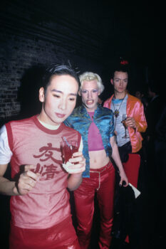 Sushi, Richie Rich, and Ernie Glam, the Tunnel, 1995