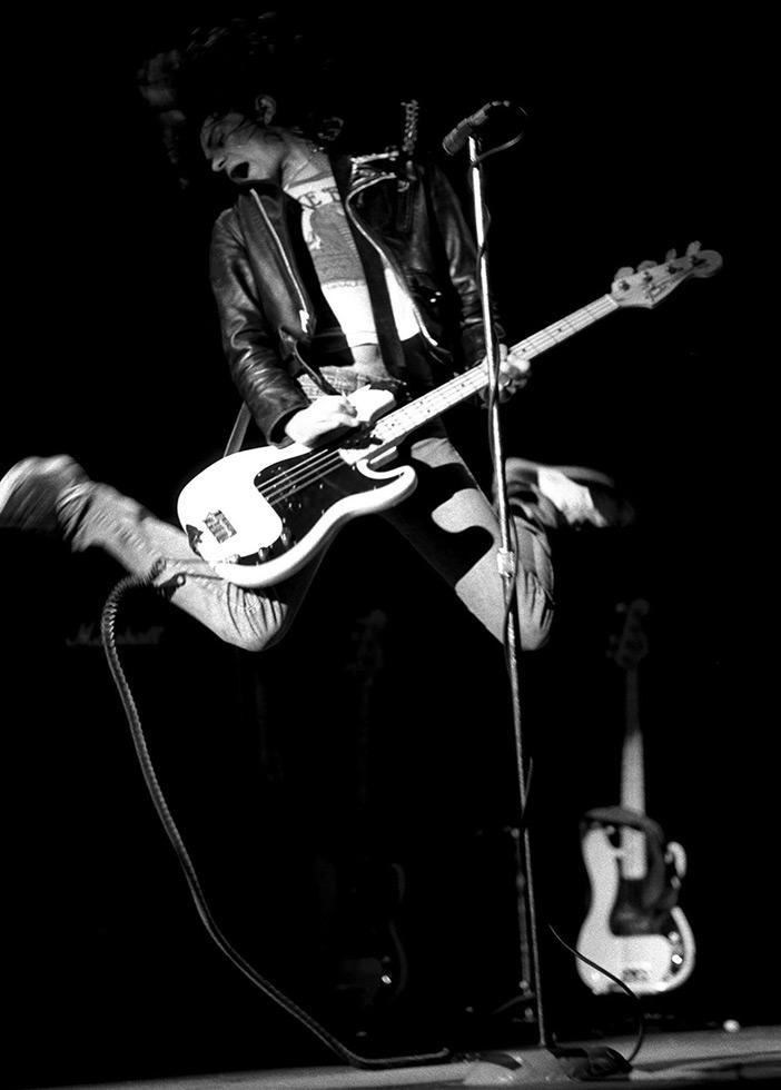 Dee Dee live, 1978