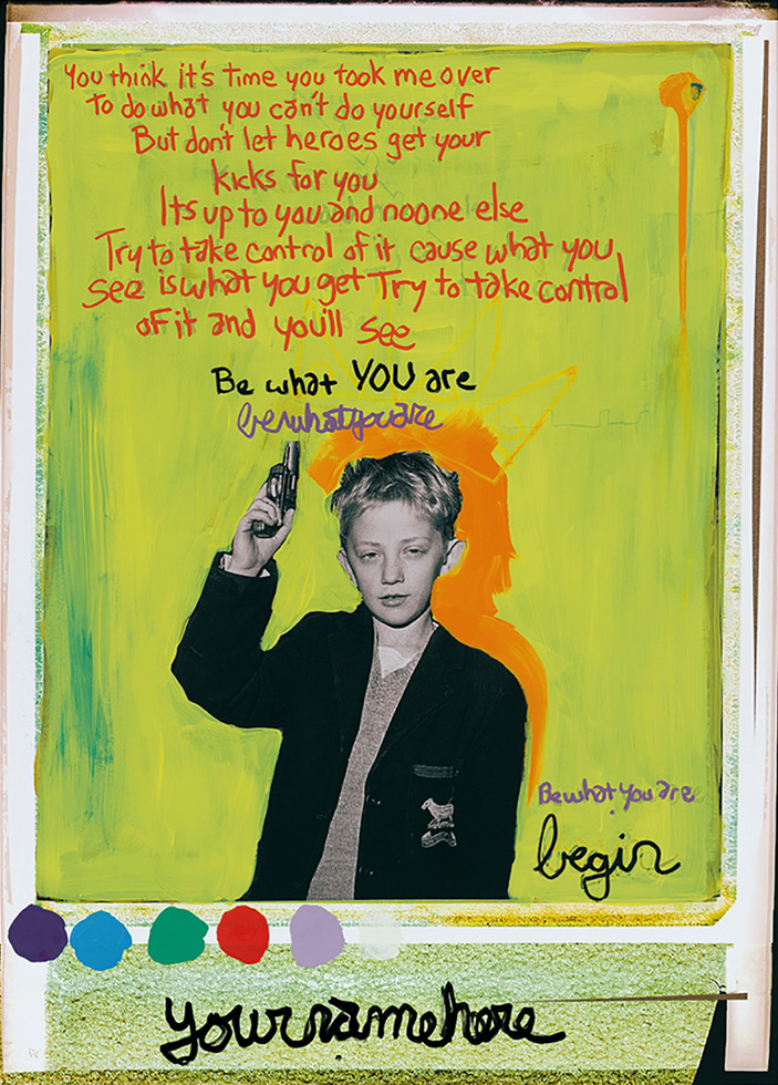 """""""Don't Let Your Heroes Get Your Kicks For You"""" The kid from the Stiff Little Fingers single, remixed by Tim KerrFollow Tim"""