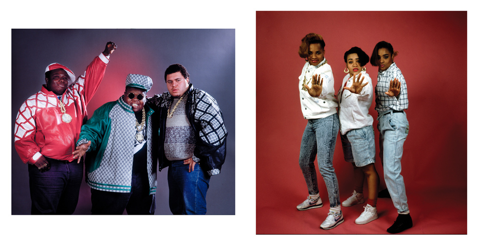 "Fat Boys, 1987, and Salt N' Pepa, 1986, Two 11""x14"" archival digital prints, signed. $200 donationClick here