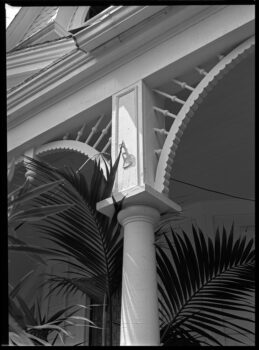 Porch Detail, Richmond Hill Historical Society, 1979, by Blaise Tobia