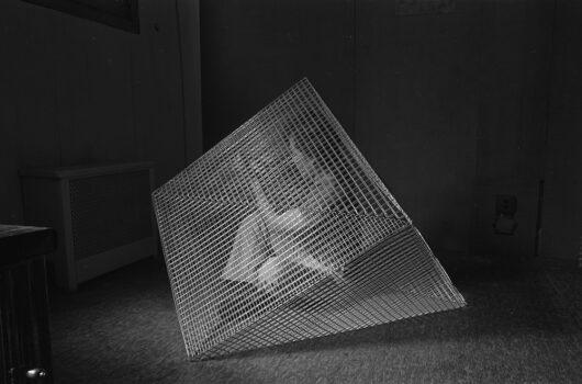 Stephen Foust, CETA sculptor in his studio, 1979, by Blaise TobiaVisit Blaise's website