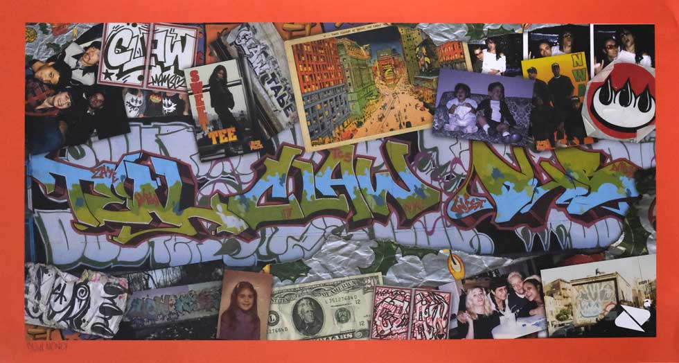 """Poster by Claw Money. 16.25""""x30"""" archival digital print on heavy weight paper, signed. $200 donationClick here  @clawmoney"""
