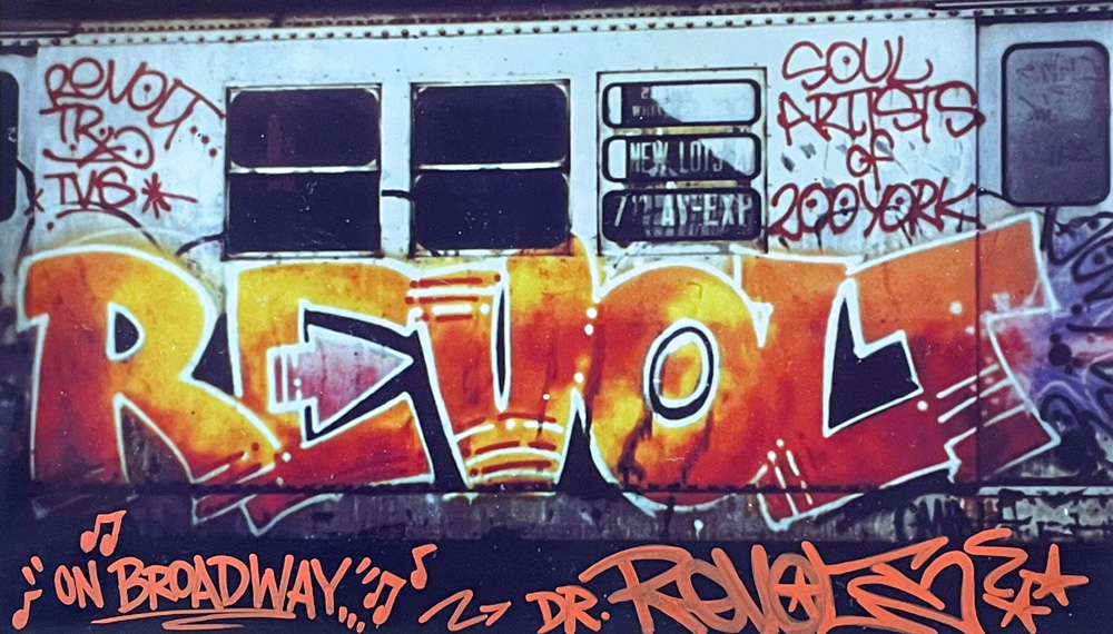 """""""On Broadway"""" by Dr. Revolt. 10""""x17"""" archival digital print, signed. $200 donationSOLD  @drrevoltrtw"""