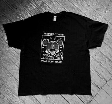 Eric Orr T-shirt from Gary Lichtenstein Editions. Men's XXL. $50 donationClick here  @garylichtensteineditions