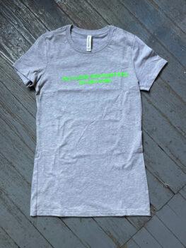 No Close Encounters T-shirt from Gary Lichtenstein Editions. Women's medium/unisex small. $50 donationClick here  @garylichtensteineditions