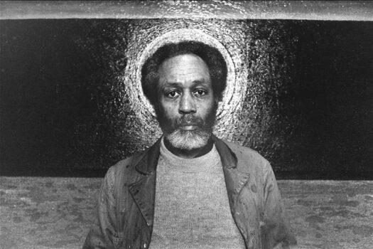 Vincent Smith, CCF CETA painter, 1979, by George MalaveVisit George's website