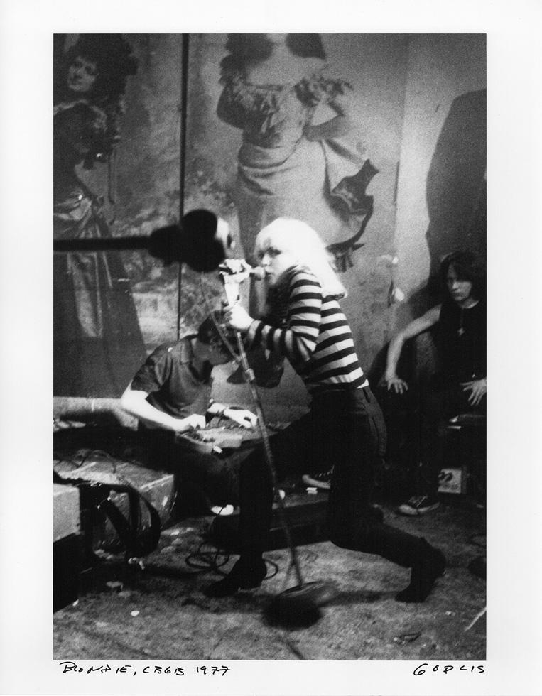 "Debbie Harry, CBGB, 1977, by GODLIS. 11""x14"" archival digital print, signed."