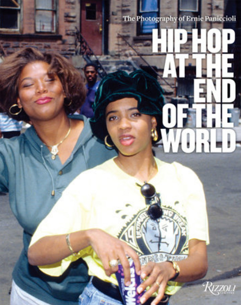 """""""Hip Hop at the End of the World: The Photography of Brother Ernie"""" by Ernest Paniccioli (Rizzoli, 2018, hard cover) Signed. With exclusive, behind-the-scenes access, preeminent photographer Brother Ernie captures the last four decades of the evolution of hip-hop - the styles that grew from it, and the artists who shaped it. Complete with Brother Ernie's personal anecdotes of time spent with subjects, and stories behind the photographs, """"Hip-Hop at the End of the World"""" shares intimate moments from the most important era of hip-hop.$50 donationSOLD  @erniepaniccioli"""