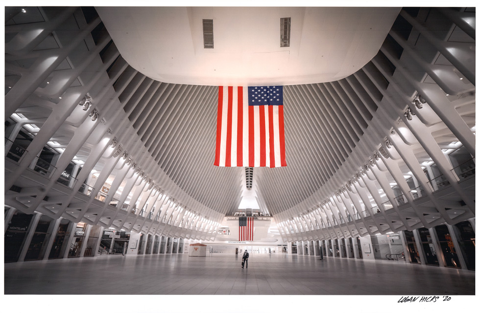 """The Oculus, NY, by Logan Hicks. 11""""x14"""" archival digital print, signed. $200 donation @loganhicksny"""