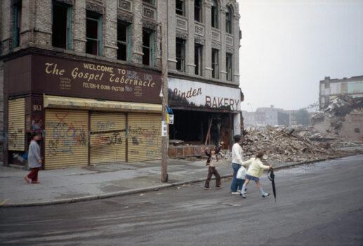 The Gospel Tabernacle and Linden Bakery, Bushwick, Brooklyn, NY, 1983